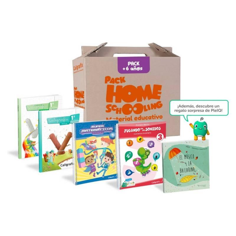 CALIGRAFIX - Pack Homeschooling 6 Años
