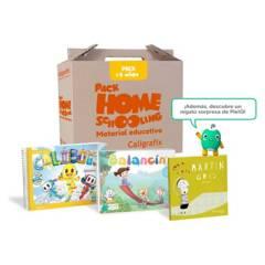 CALIGRAFIX - Pack Homeschooling  3 Años