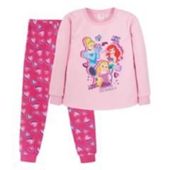 DISNEY - Pijama Ll Niña Hearts Rosado Princess
