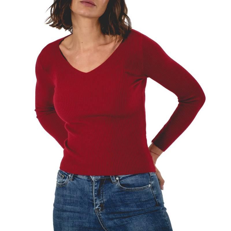 GUINDA - Sweater Verlac