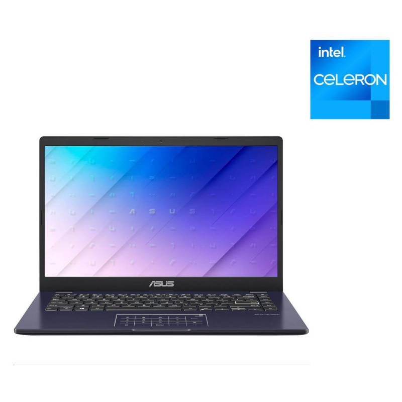 """ASUS - Notebook Intel Celeron 4GB RAM 64GB SSD 11.6"""" (Teclado y sistema en Inglés-100% configurable al español)"""