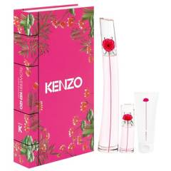 KENZO - Set de Regalo Perfume Mujer Flower By Kenzo Poppy Bouquet EDP 100ML + Mini + Body Lotion