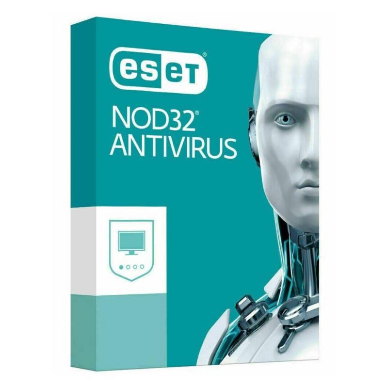 ESET - Antivirus Eset Nod32 1 Pc Año 2021