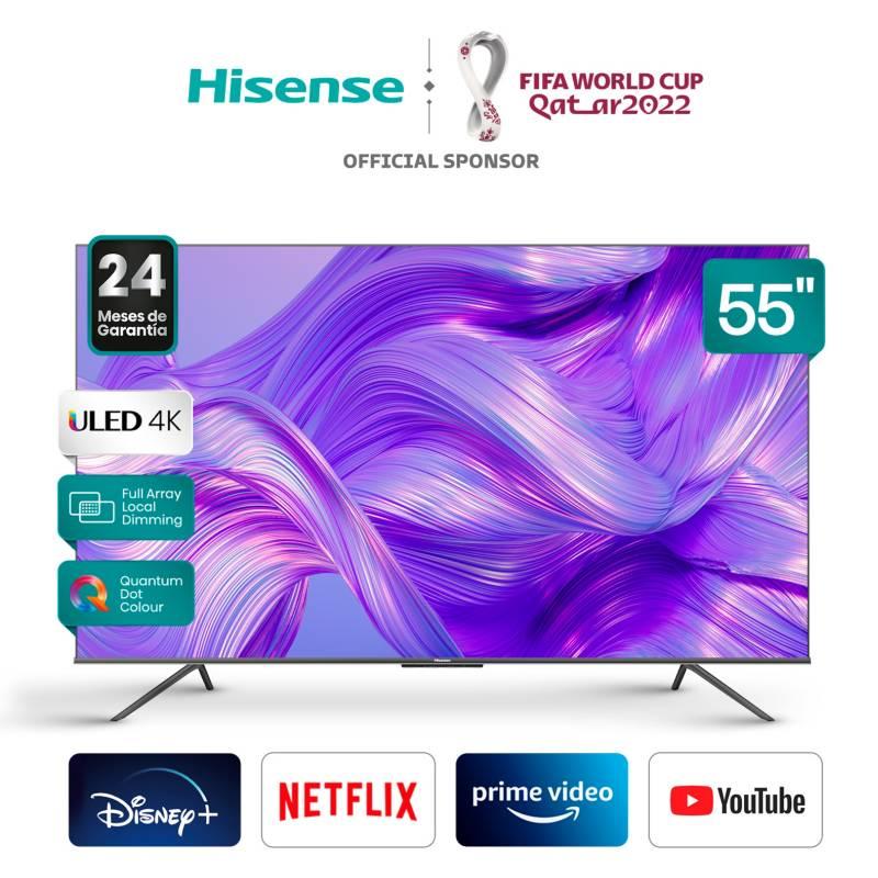 HISENSE - Uled 55 55U60G 4K Hdr 10+ Smart Tv