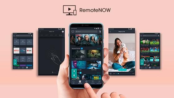 Smartphone control remoto