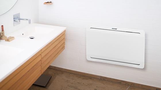 Doble función: tiene ruedas y también se puede montar en la pared Resistente a la humedad, utilizable en baños y cocinas