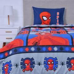 MARVEL - Plumón 1.5 Plazas Spiderman Wonder