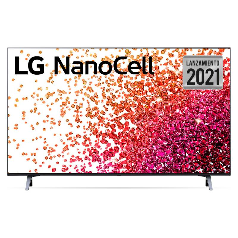 LG - NanoCell 55'' 55NANO75 4K UHD Smart TV + Magic Remote 2021