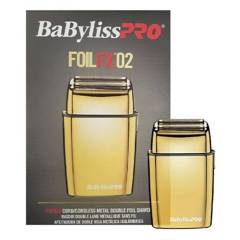 BABYLISS - Máquina de afeitar Foil FX 02 dorada Babyliss