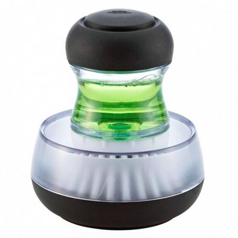 OXO - Escobilla Lavaloza Compacta Dispensador Y Base Oxo