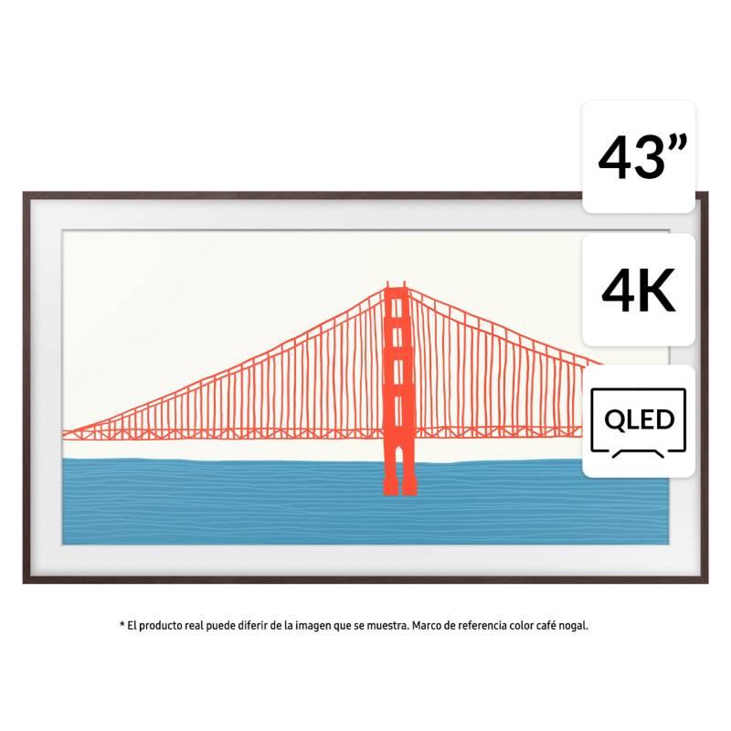 """SAMSUNG - QLED 43"""" The Frame 4K UHD Smart TV 2021"""