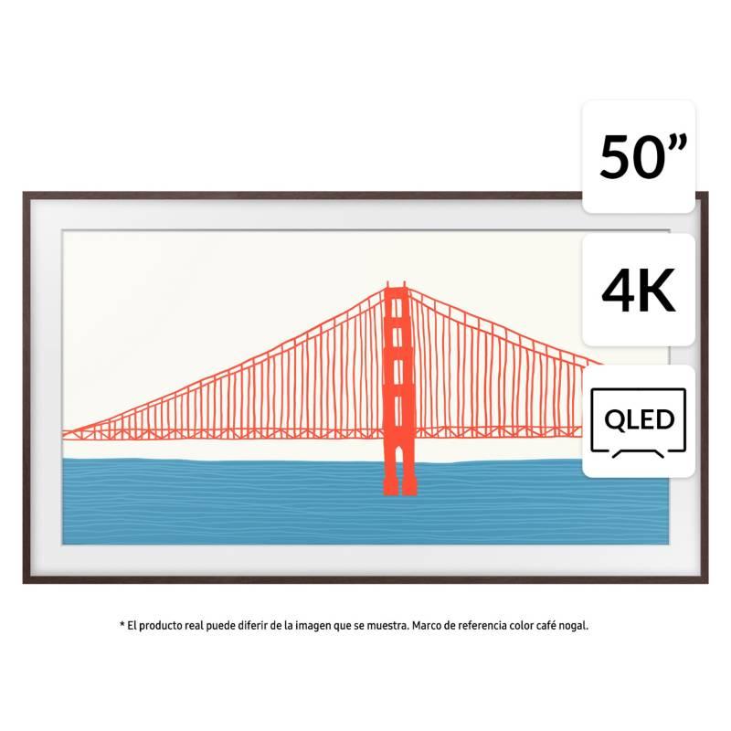 """SAMSUNG - QLED 50"""" The Frame 4K UHD Smart TV 2021"""