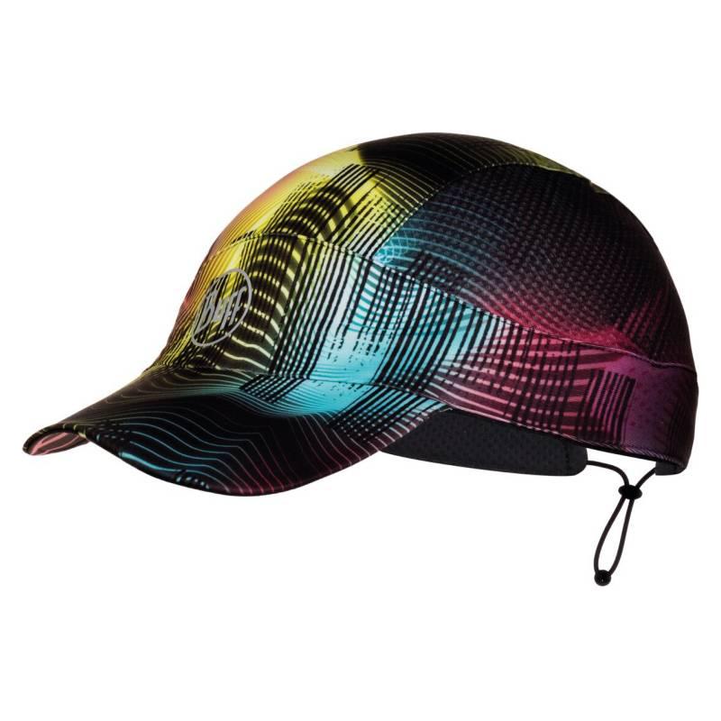 BUFF - Jockey Pack Run Cap R- Color Grace Multicolor
