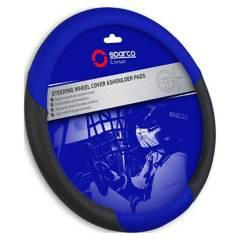 SPARCO - Cubre Volante Auto Sparco Universal Azul Sps117Bl