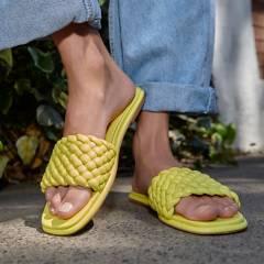 MICHAEL KORS - Sandalia Mujer Amarilla