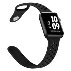 CELLBOX - Correa Deportiva Para Apple Watch Negra
