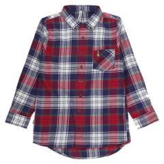 HUSH PUPPIES KIDS - Camisa Aron Azul