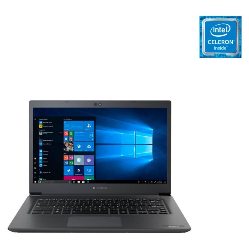 """DYNABOOK - Notebook By Toshiba Intel Celeron 4GB RAM 128GB SSD 14"""" (Teclado y sistema en Inglés-100% configurable al español)"""