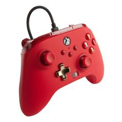 POWER A - Control Power A Enhanced Wired Xbox Red