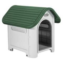 COOL PET - Casa De Perro Grande Cool Pets Verde 87Cm