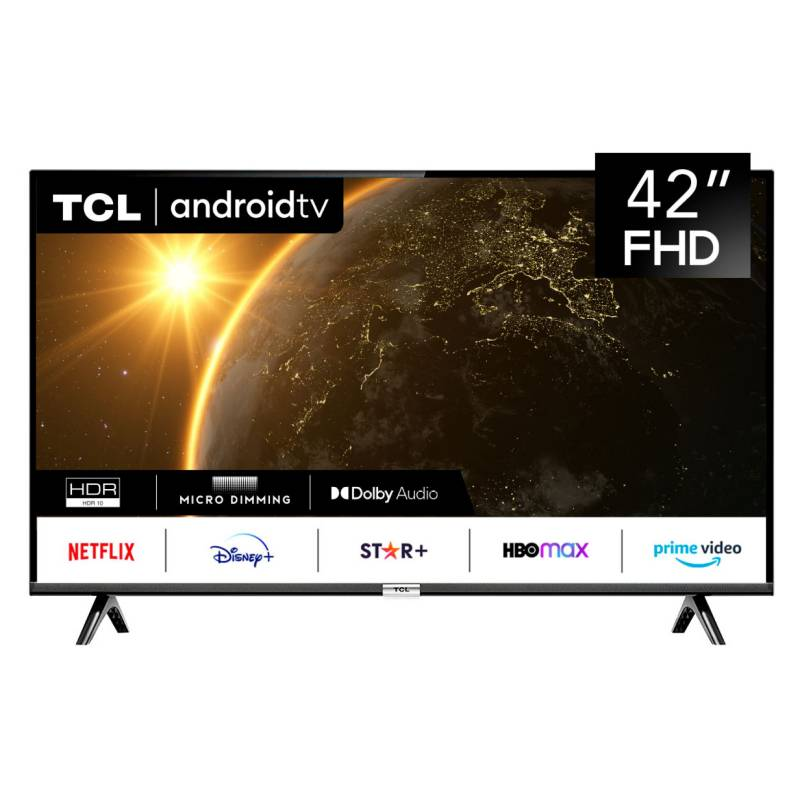 """TCL - LED 42"""" 42S6500 FHD Android TV Smart TV"""