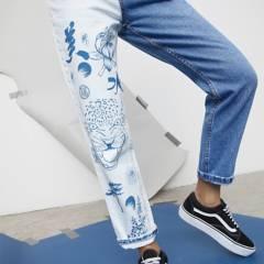 AMERICANINO - Jeans alto mujer