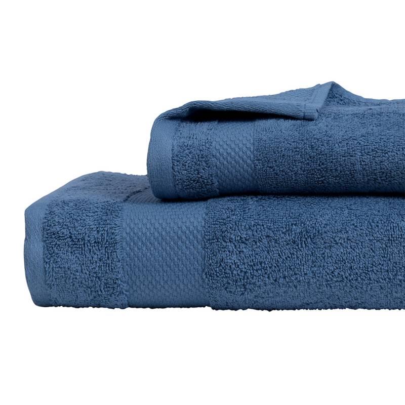 MASHINI - Set 2 toallas Ares 460 Azul