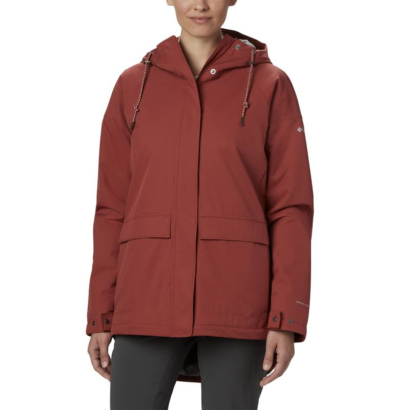COLUMBIA - Parka Mujer Briargate Insulated Polyester Rojo