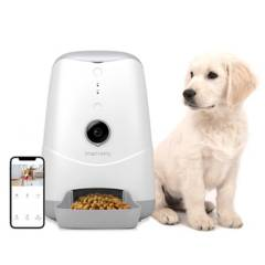 SMART HOMY - Alimentador De Mascota Con Camara Wifi Smart Homy