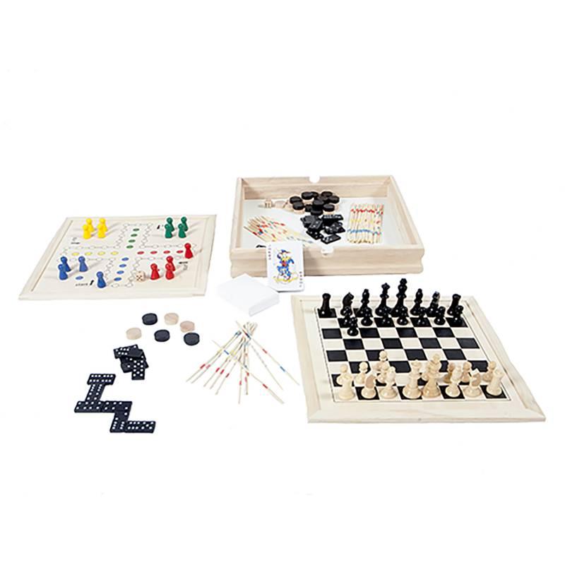 SEIGARD - Juegos de Mesa 7 En 1