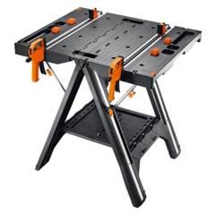 WORX - Mesa de trabajo plegable capacidad 136 kgs