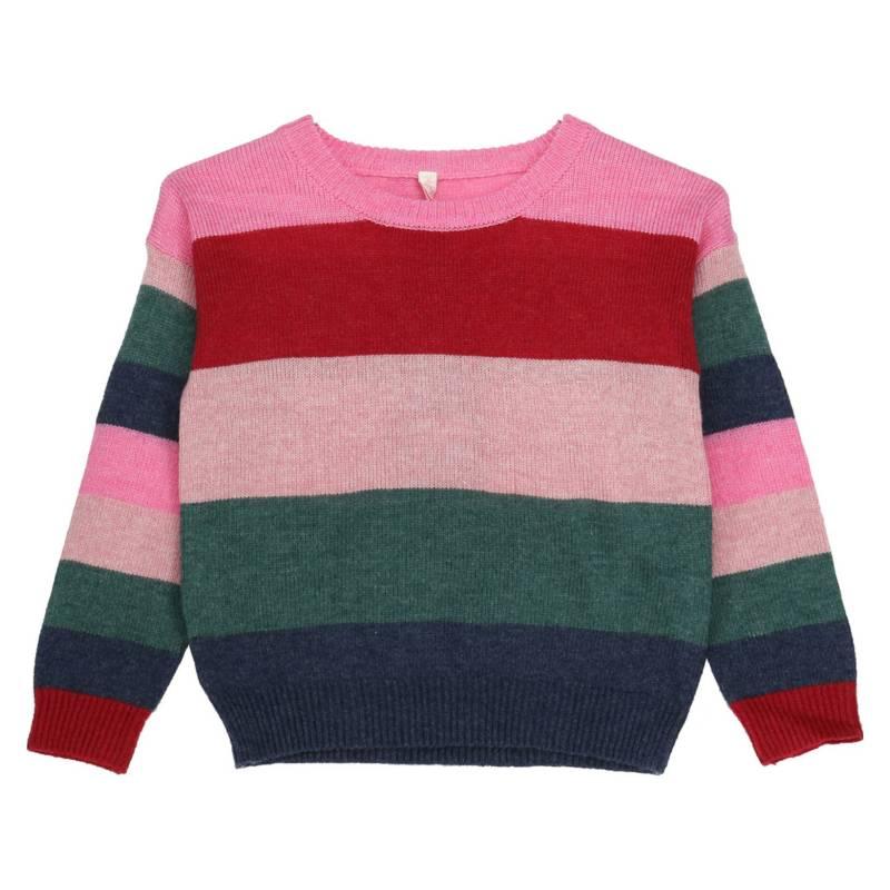 HUSH PUPPIES KIDS - Sweater Brownie Rosa