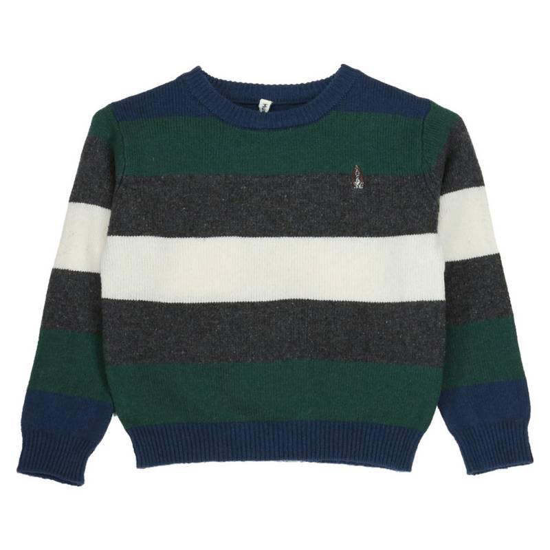 HUSH PUPPIES KIDS - Sweater Tomas Azul