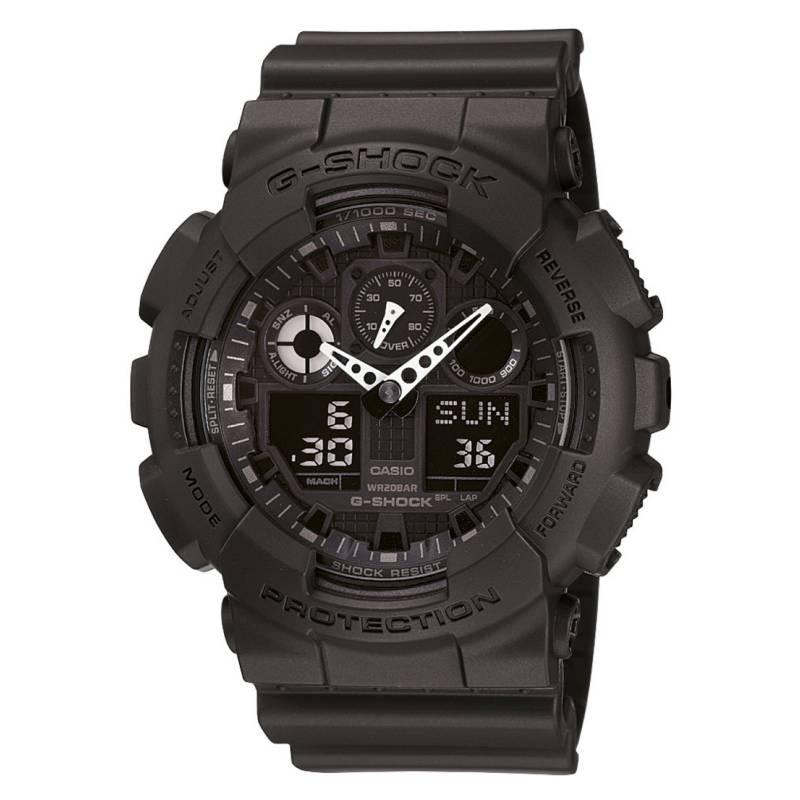 G-SHOCK - Reloj análogo/digital hombre GA-100-1A1DR