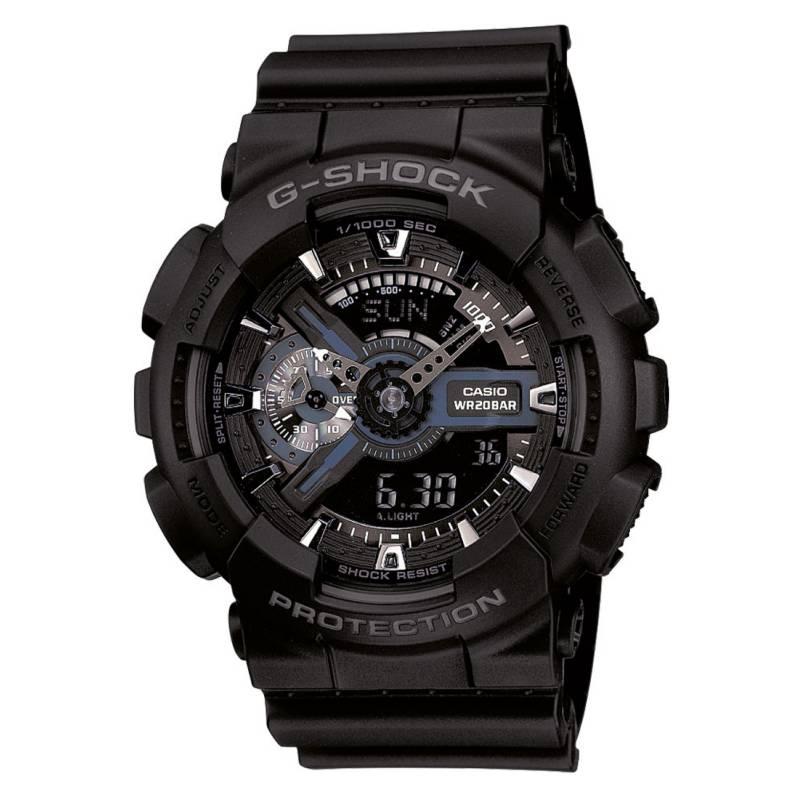 G-SHOCK - Reloj análogo/digital hombre GA-110-1BDR