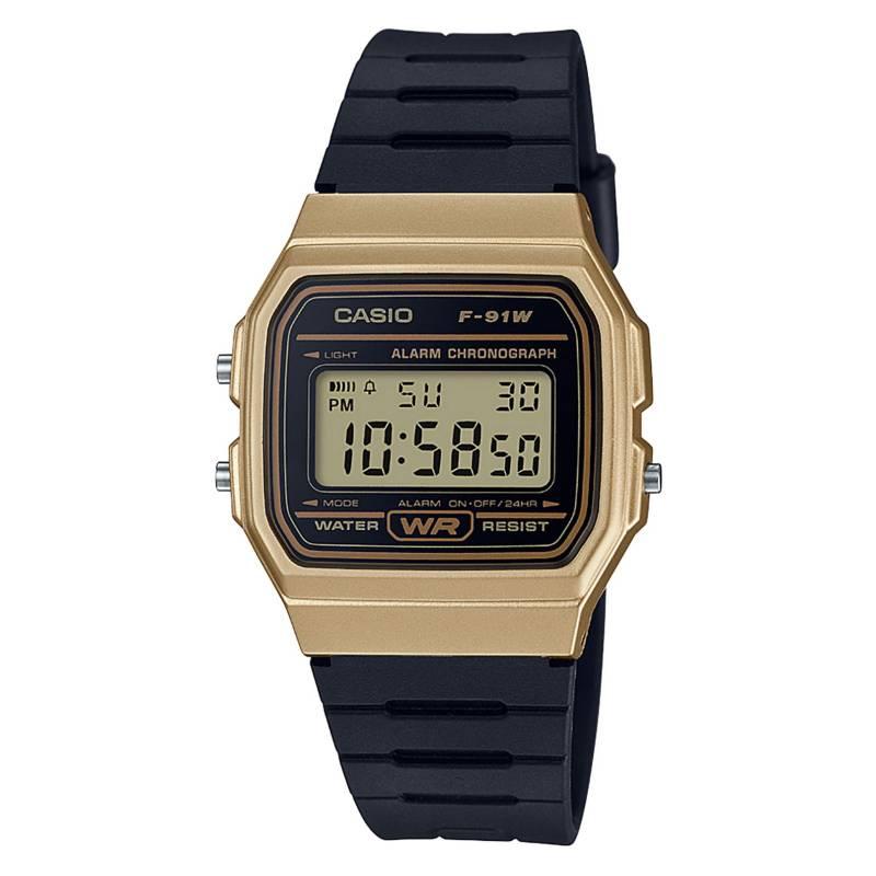 CASIO - Reloj digital hombre F-91WM-9ADF