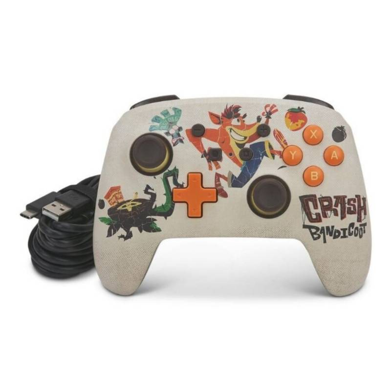 POWER A - Control Wired Crash Bandicoot 4  - Nintendo Switch