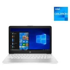 """HP - Notebook Intel Celeron 4GB RAM 32GB SSD 11.6"""" (Teclado y Sistema en Inglés - Configurable al Español)"""