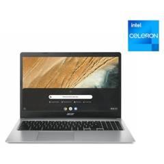 """ACER - Chromebook Acer Intel Celeron 4GB RAM 32GB SSD 15.6"""" (Teclado y Sistema en Inglés - Configurable al Español)"""