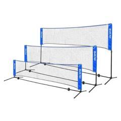 VADELL - Multired 3 en 1 Tenis-Badminton-Voleibol