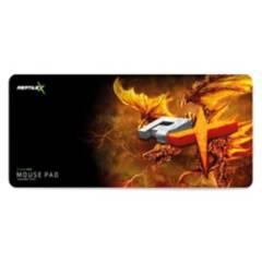 REPTILEX - Mousepad Gamer Pro 70X30 Cm Naranjo Gotronics