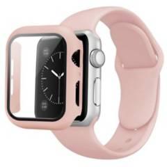 GENERICO - Correa Apple Watch Con Protector De Pantalla 44Mm