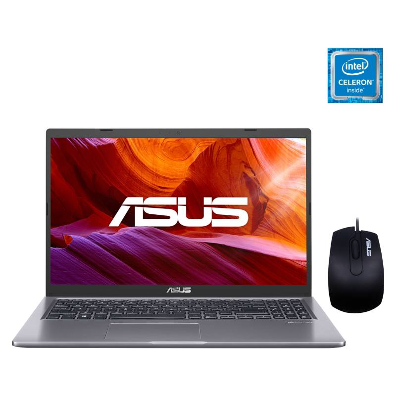 "ASUS - Laptop X515MA-BR576T Intel Celeron 4GB RAM 500GB HDD Integrada: Graficos Intel UHD 600 15.6"""