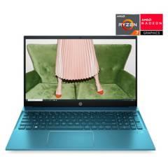 """HP - Notebook Pavilion 15-eh0010la AMD Ryzen R7 8GB RAM 512GB SSD Gráficos integrados AMD Radeon 15.6"""""""