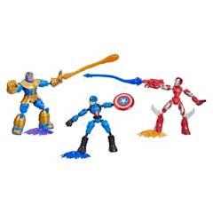 AVENGERS - Figura De Acción Avengers Bend Y Flex Collection Pack