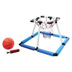 VADELL - Juego de Aro de Basket para Agua 62x62x50 cm