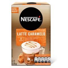 NESCAFE - Café Nescafé Caramelo Latte X3 Cajas