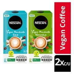 NESCAFE - Café Nescafé Vegan Macchiato Almendra Y Coco X4