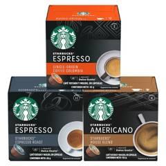NESCAFE DOLCE GUSTO - Capsulas De Café Starbucks Negras X3 Cajas