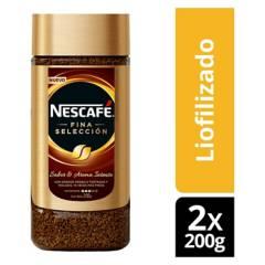 NESCAFE - Café Nescafé Fina Selección 200G X2 Frascos
